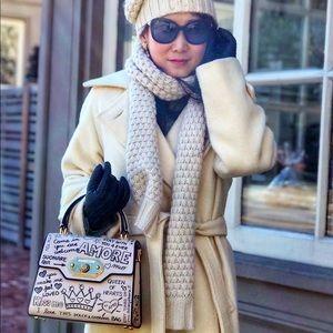 Dolce & Gabbana Welcome Amore Graffiti Medium Bag